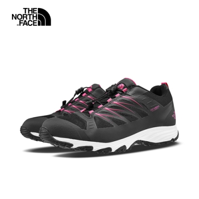 The North Face北面女款黑色防水透氣徒步鞋 4PF8MB5