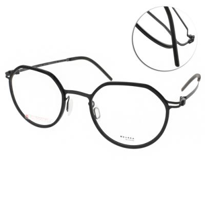 VYCOZ眼鏡 DURRA系列 薄鋼 微寶石造型款 /黑 #DR9007 BLK-B