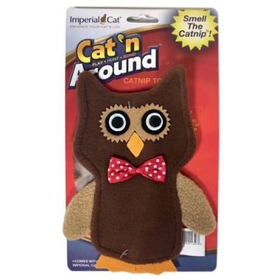 美國Imperial Cat貓大帝Cat n Around-貓草玩具-貓頭鷹