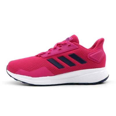 Adidas DURAMO 9 K 跑步鞋 中大童 粉