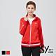 【SKY YARD 天空花園】立領拉鍊口袋長袖外套-紅色 product thumbnail 1