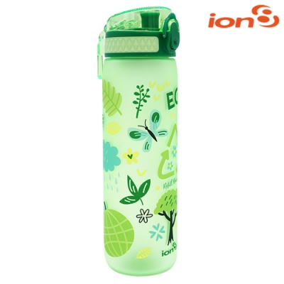【ION8】Slim運動休閒水壺I8500 / Eco森林綠