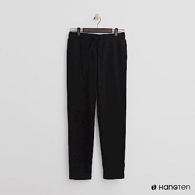 Hang Ten - 女裝 - 鬆緊口袋設計棉褲-黑