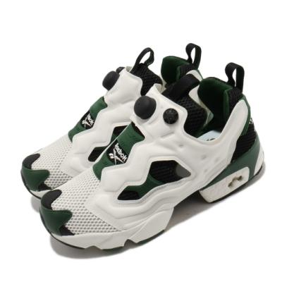 Reebok 休閒鞋 Instapump Fury OG 男鞋 經典款 襪套 充氣科氣 穿搭 球鞋 白 綠 FV1573