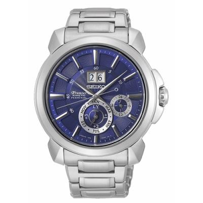 SEIKO 精工Premier人動電能萬年曆腕錶(SNP161J1)