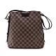 Louis Vuitton Ebene Damier 帆布側拉鍊肩背包(N41108-咖) product thumbnail 1