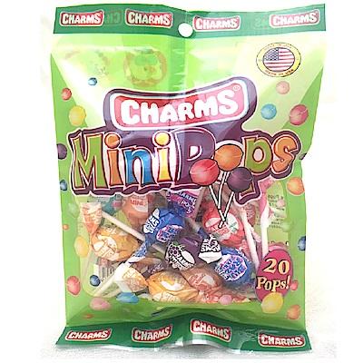Tootsie同笑樂QQ兔迷你棒棒糖水果口味100g包