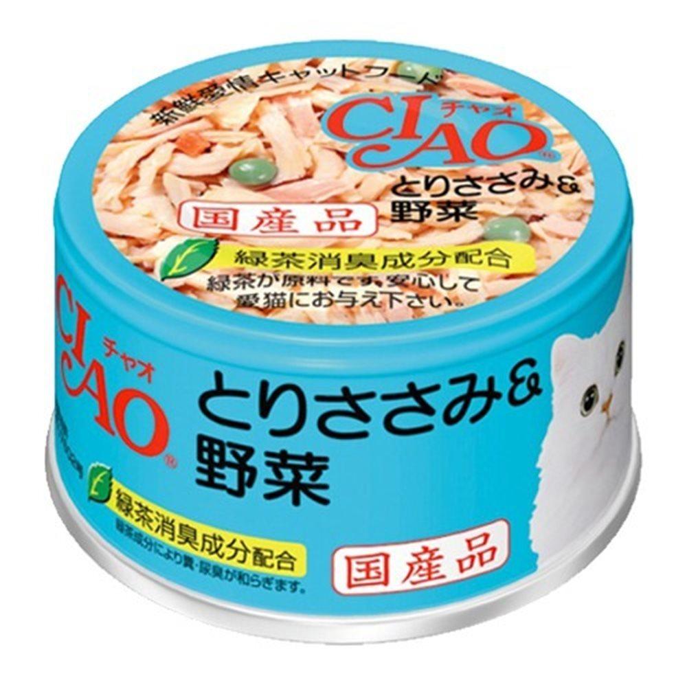 CIAO 旨定罐11號 (雞肉+蔬菜) 85g 24罐組