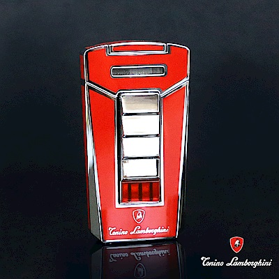 藍寶堅尼Tonino Lamborghini AERO LIGHTER 打火機(紅)