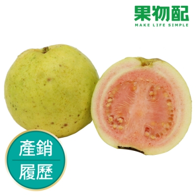 【果物配】紅心土芭樂.友善農法(1.8公斤,6~12顆)