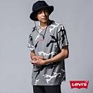Levis 男款 短袖T恤 個性黑白迷彩 迷你刺繡Logo布章