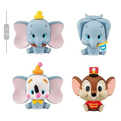【BANDAI】萬代 扭蛋轉蛋  迪士尼小飛象 角色公仔  (一套全4種)