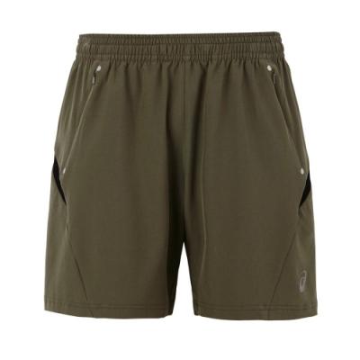 ASICS 男七吋短褲 2011A596-300(綠)