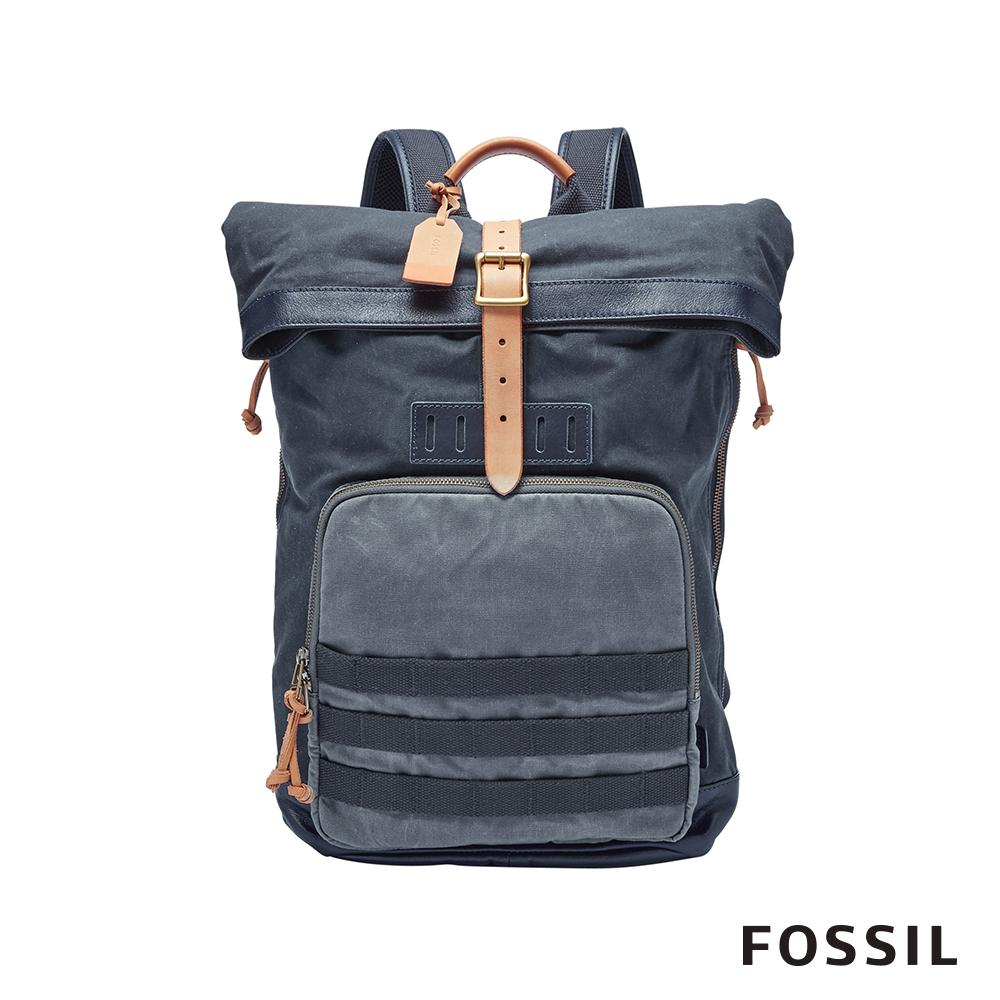 FOSSIL DEFENDER 後背包-單寧 MBG9308470