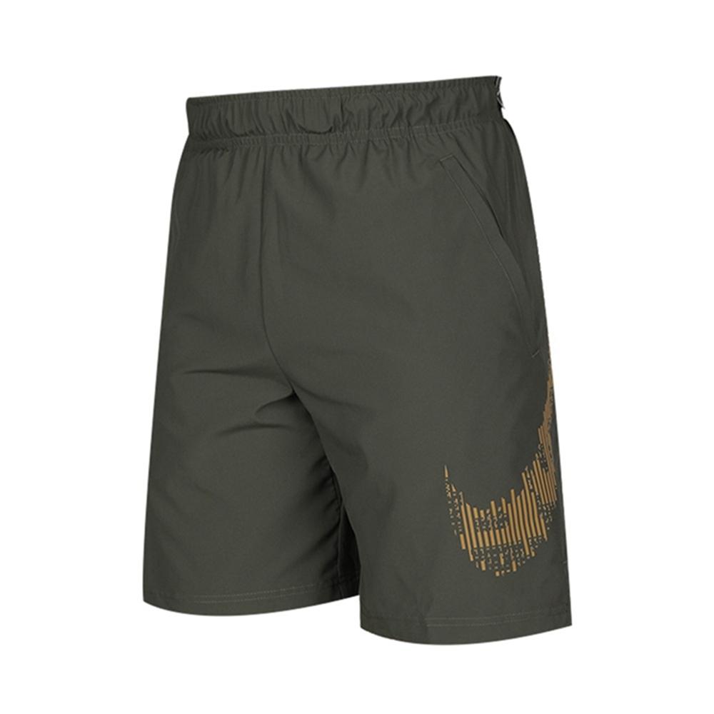 NIKE 運動短褲 休閒 慢跑 訓練  男款 綠 CJ2393325 AS M NK FLX 2.0 GFX2