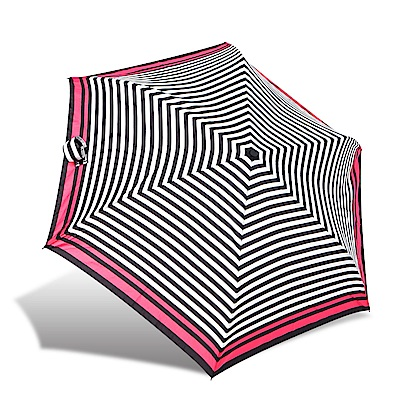 RAINSTORY 復古條紋抗UV省力自動傘
