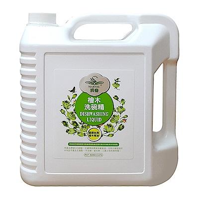 汎奇 檜木洗碗精 家庭號 (4000ML 瓶)