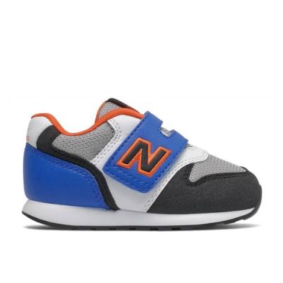 NEW BALANCE 運動鞋 魔鬼氈 麂皮 小童鞋 黑灰藍 IZ996MBO