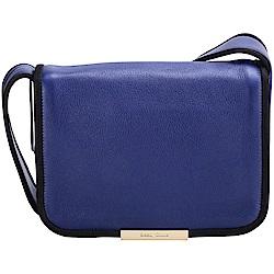SEE BY CHLOE Aster 黑滾邊設計藍色肩背包(展示品)