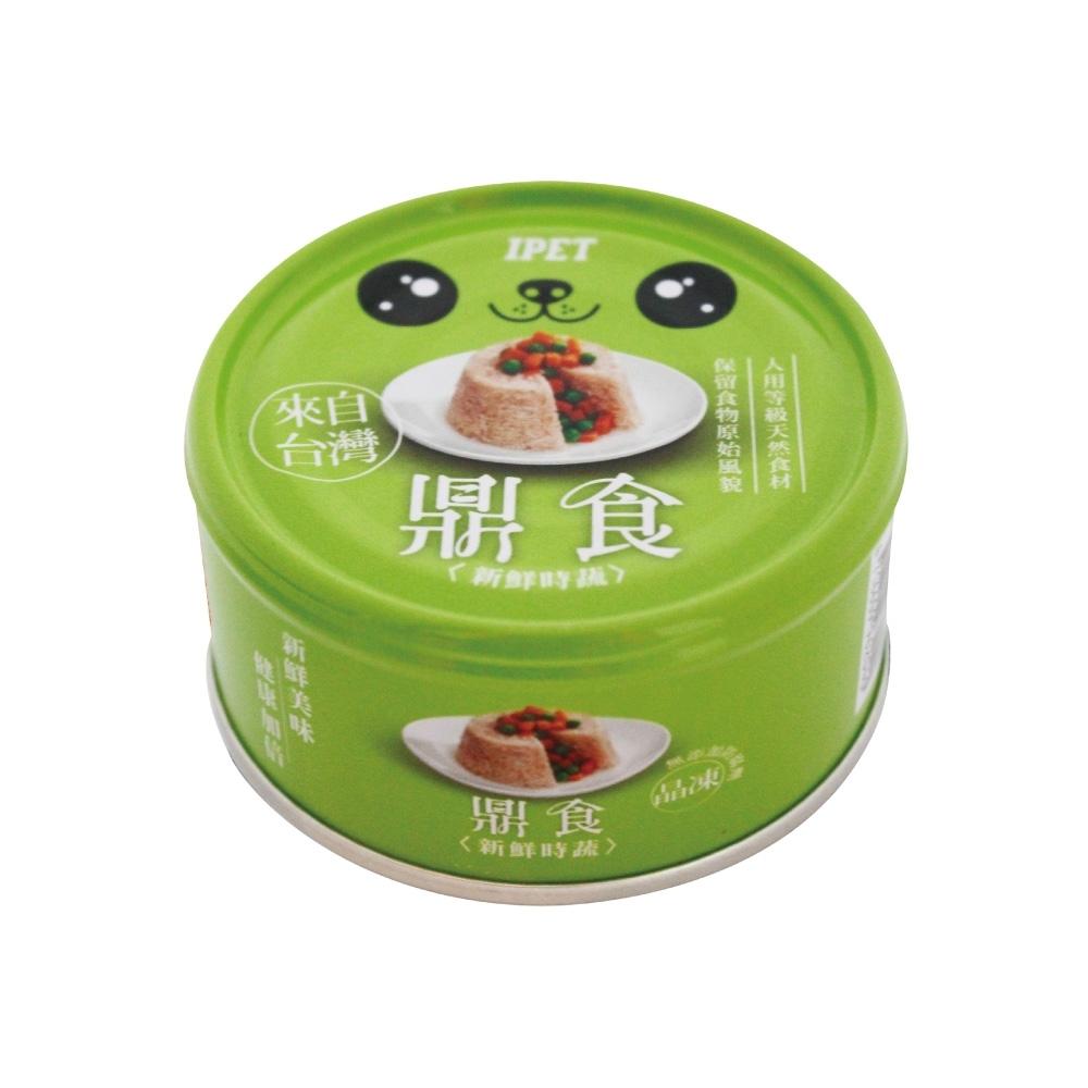 IPET 鼎食狗罐-新鮮時蔬(110g/罐x24罐)