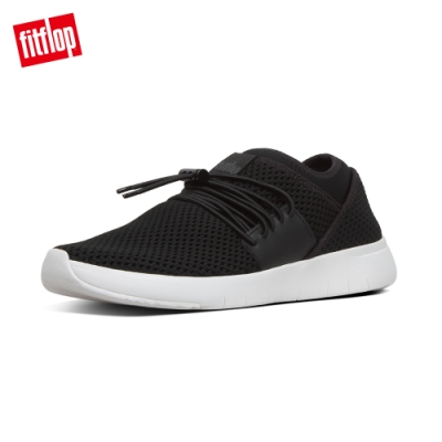 FitFlop AIRMESH LACE-UP SNEAKERS 黑色