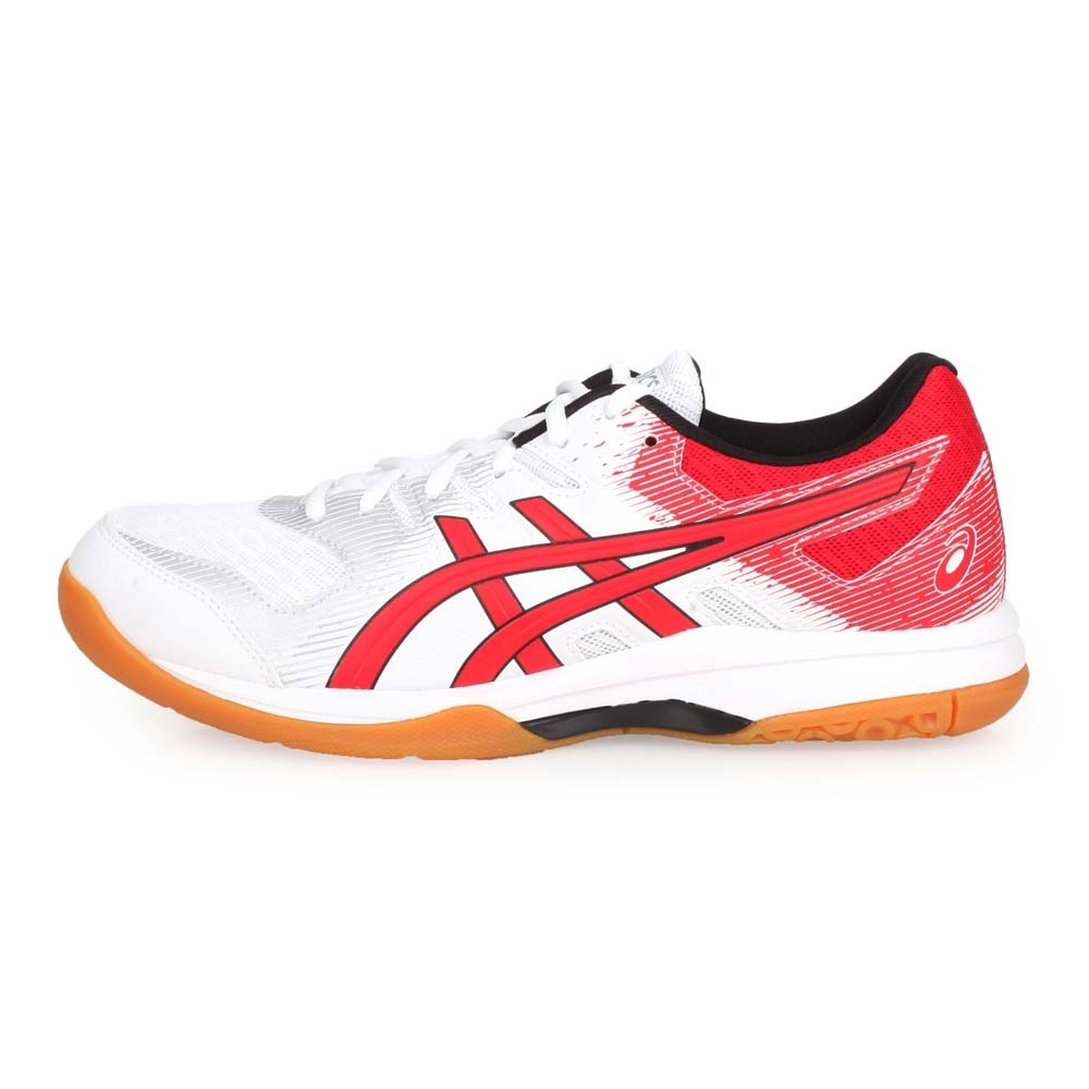 ASICS 男 排羽球鞋 GEL-ROCKET 9 白紅銀