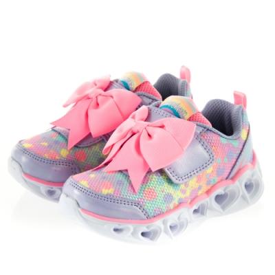 SKECHERS 女嬰童系列 燈鞋 HEART LIGHTS - 20265NLVPK