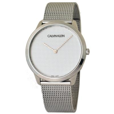 Calvin Klein Minimal系列立體錶盤米蘭帶手錶
