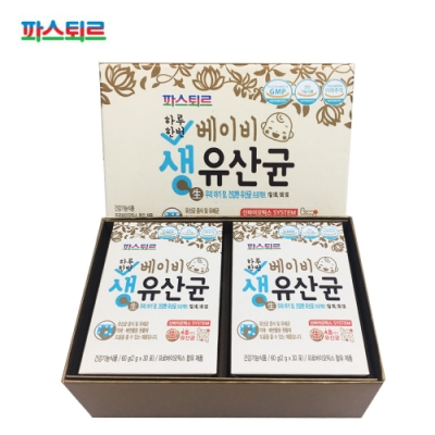 韓國《樂天帕斯特》寶寶益生菌0-4歲(2盒共60入)