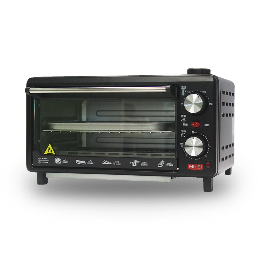 [熱銷推薦]MILEI德國米徠10公升雙旋鈕蒸氣烤箱 MSOV-816