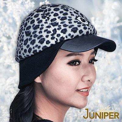 JUNIPER 男女保暖防風刷毛搖粒絨運動針織護耳冬帽