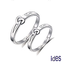 ides愛蒂思 都會系列戒指對戒/永結同心