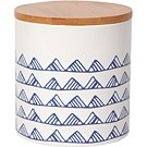 《NOW》竹蓋陶製密封罐(白山丘625ml)