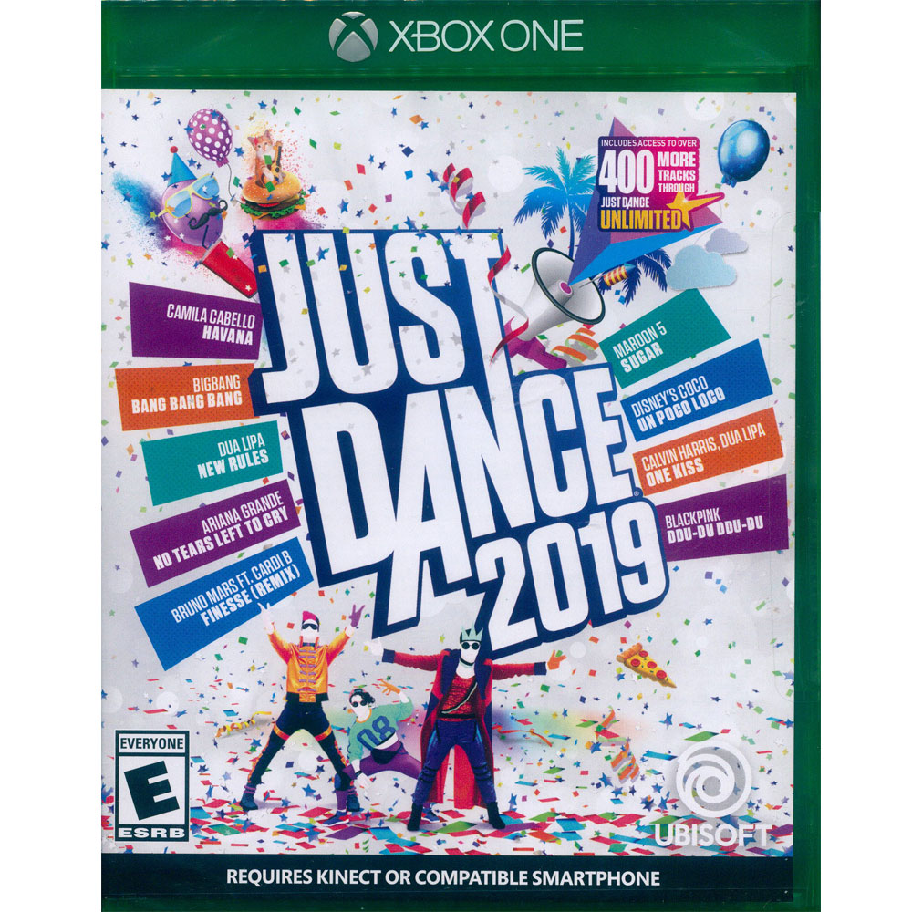 舞力全開 2019 Just Dance 2019 - XBOX ONE 英文美版
