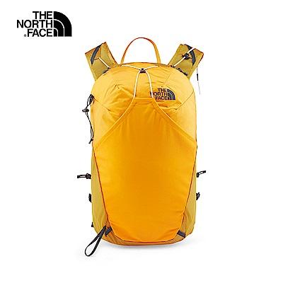 The North Face北面男女款黃色舒適休閒後背包 3GA2AZ6