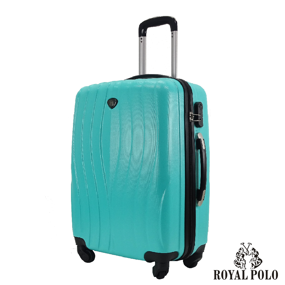 ROYAL POLO  28吋  凌波微舞ABS硬殼拉鍊箱/行李箱 (湖水綠)