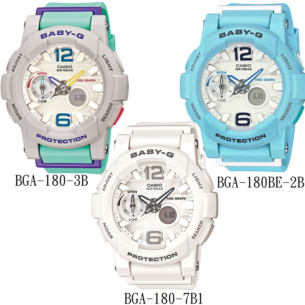Baby G Bga 18044mm Yahoo Casio 180 2b