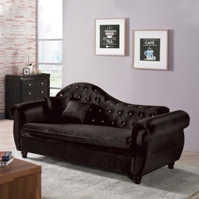 H&D 辛菲黑色貴妃椅