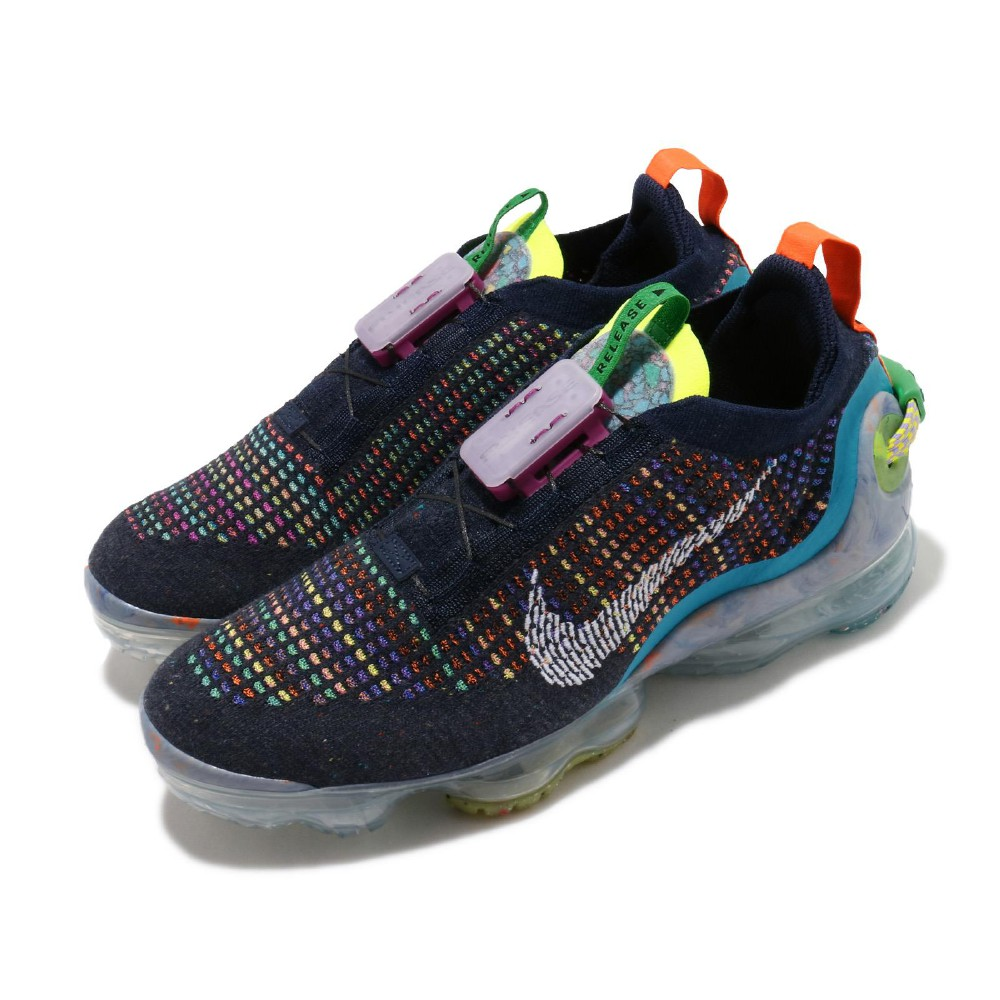 Nike 慢跑鞋 Vapormax 2020 襪套 男鞋 氣墊 避震 包覆 針織鞋面 輕便 黑 彩 CJ6740400