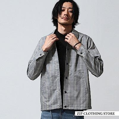 西裝布教練夾克(6色) ZIP日本男裝