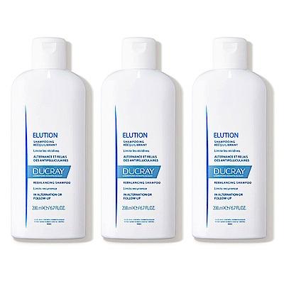 DUCRAY護蕾 控油舒敏洗髮精基礎型200mlx3