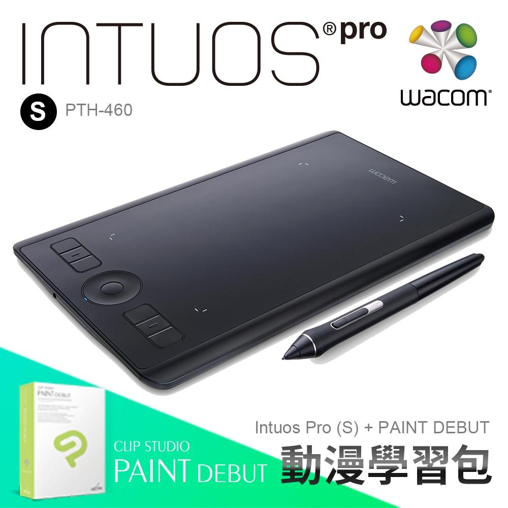 【動漫學習包】Wacom Intuos Pro small 觸控繪圖板 (PTH-460)