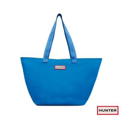 HUNTER - 輕量橡膠托特包 - 藍