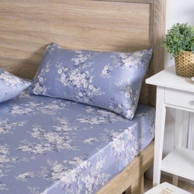 MONTAGUT-芬芳花園-200織紗萊賽爾纖維天絲三件式床包組(雙人)