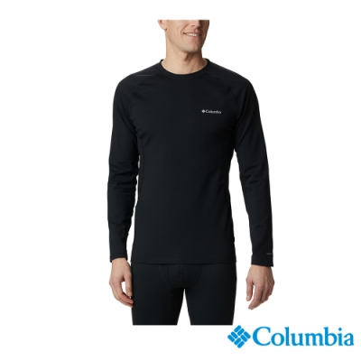 Columbia 哥倫比亞 男款- Omni HEAT3D保暖內著上衣-黑色 UAK27150BK