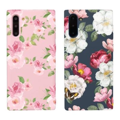 【TOYSELECT】Samsung Note10 水彩文藝設計手機殼