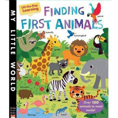 Finding First Animals 我的第一本動物書精裝翻翻書