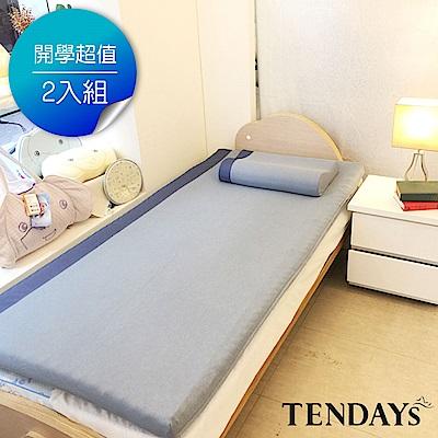 DISCOVERY柔眠床墊 標準單人3尺 5.5cm厚_文青藍特仕版