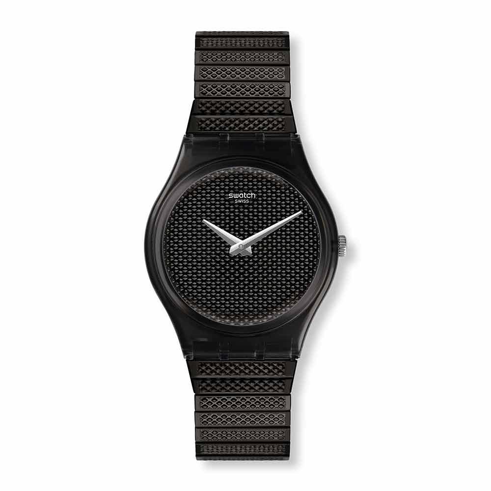 Swatch Deep Wonder系列 NOIRETTE L黑色本質手錶