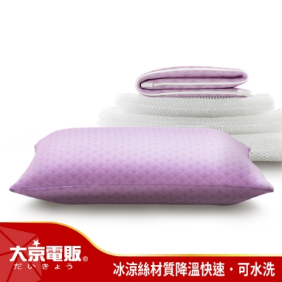 (全新福利品)日本大京電販- 4D防螨涼感枕-1入組